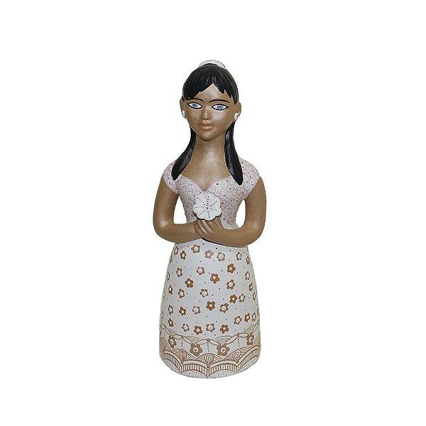 Escultura Noiva Adriana Vale do Jequitinhonha - MG