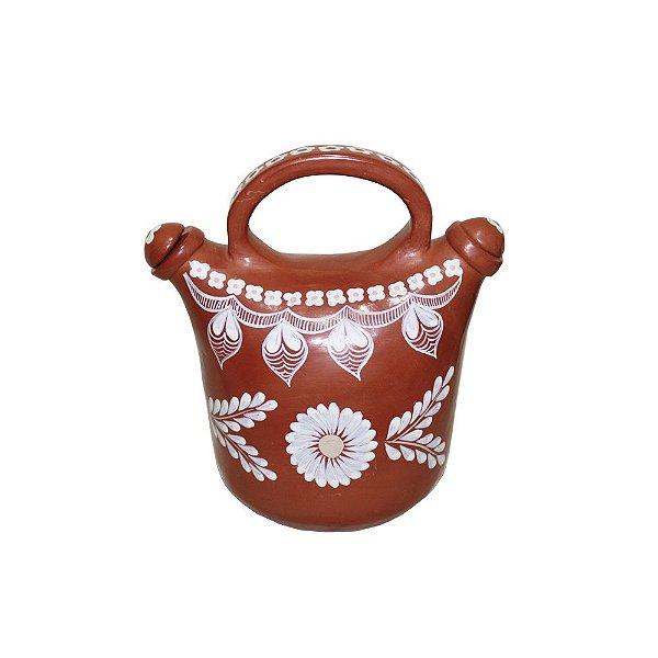 Escultura em Cerâmica com Alça Rita - MG