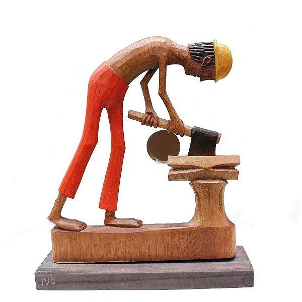 Escultura Lenhador (PE)