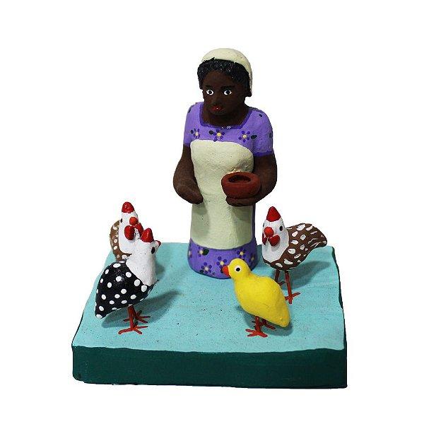 Mini Escultura Figureiras de Taubaté -SP