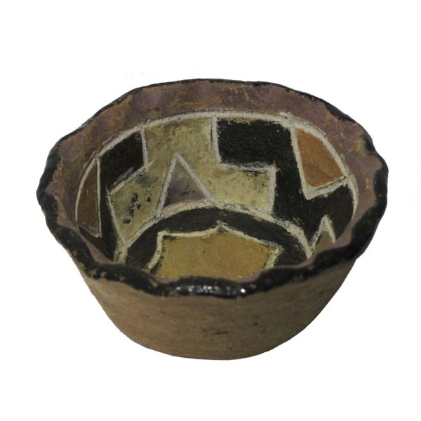 Vasilha em Cerâmica Kadiwéu PP - MS