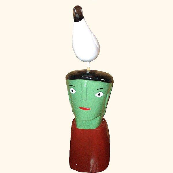 Cabeça com pássaro M Cicero- Ilha do Ferro - AL
