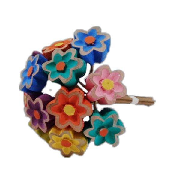 Buquê de Flores de Madeira  -MG