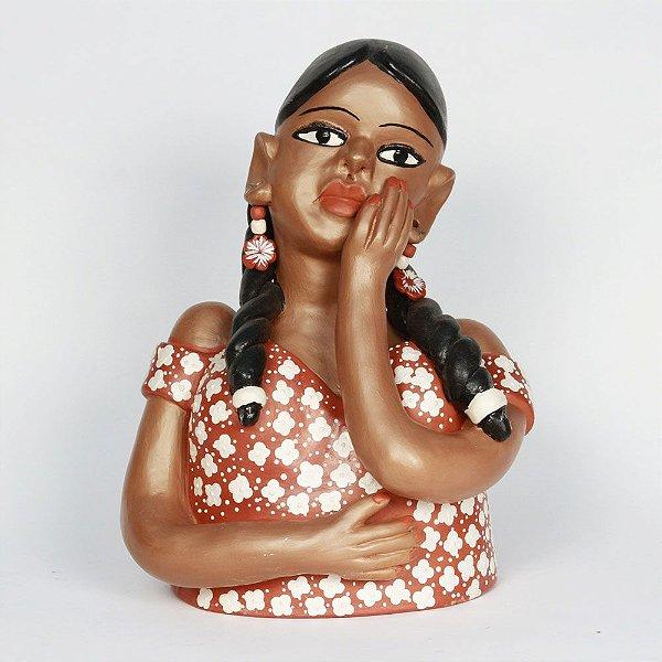 Namoradeira em cerâmica da Marlúcia - MG