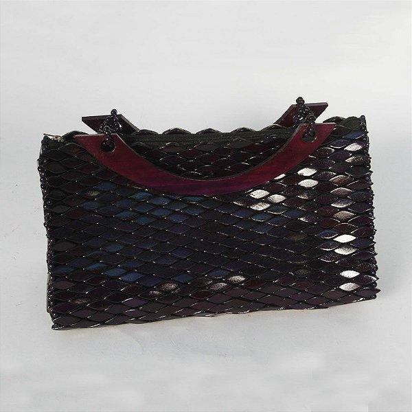 Bolsa de Madeira Baú com furro GG - CE