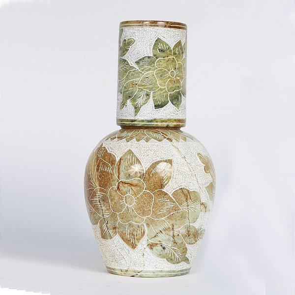 Moringa de Pedra Sabão bordada da Adriana - MG