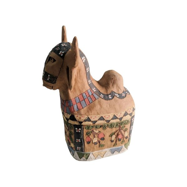Boi em cerâmica da Irailda Capela P - AL