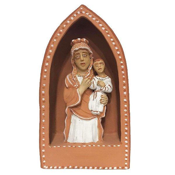 Oratório em cerâmica da Mariane - MG