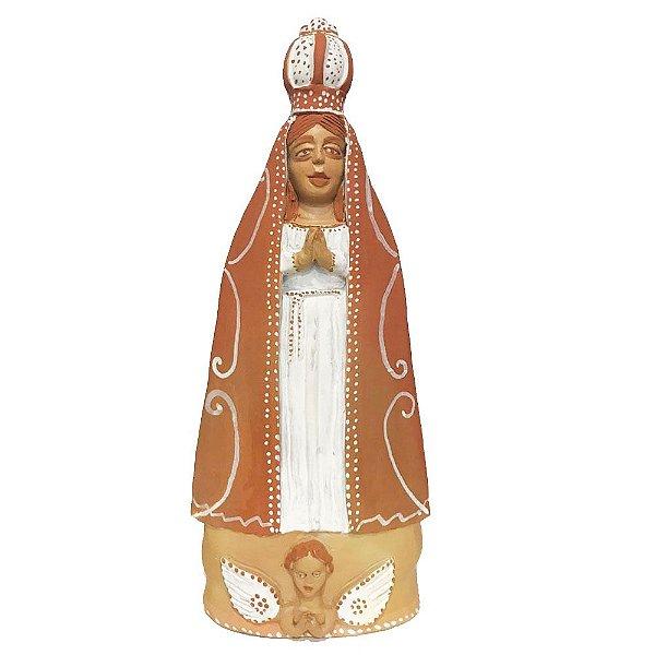 Nossa Senhora em cerâmica da Mariane - MG