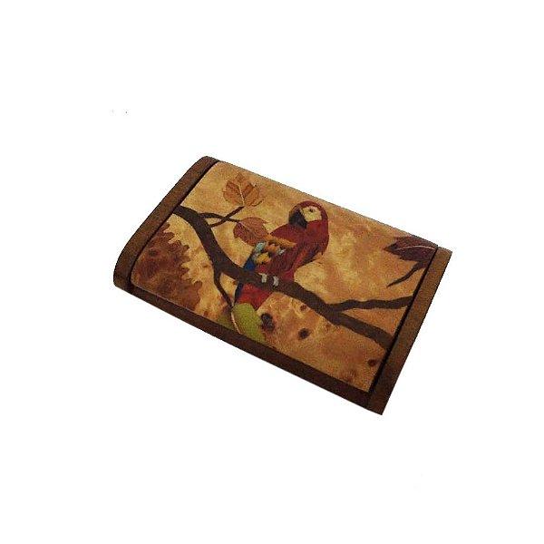 Porta cartão de marchetaria do Maqueson -AC