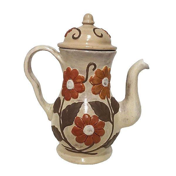 Bule em Cerâmica da Maria Madalena - MG