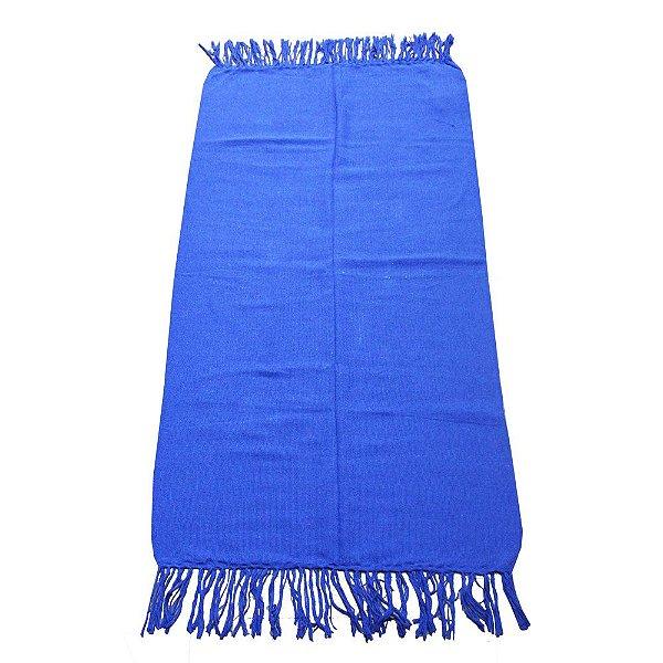 Manta de algodão azul 1,20 x 1,35 - PB