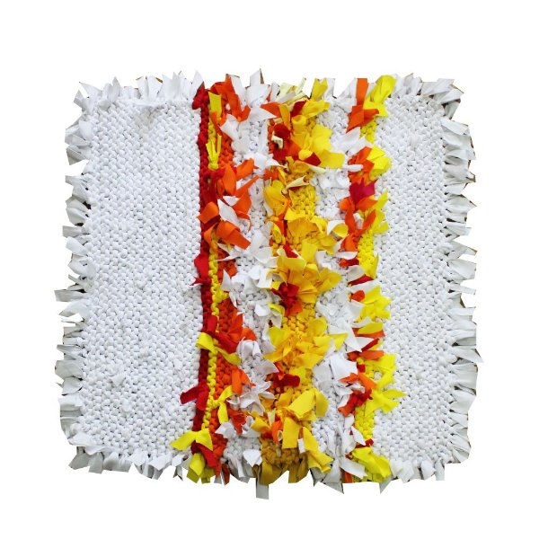 Capa de almofada de retalho 50 x 50 - PE