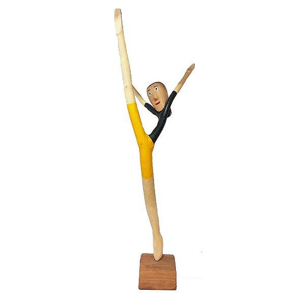 Acrobata em madeira do Yang Especial - AL