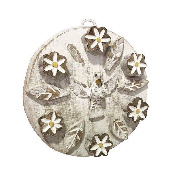 Divino Mandala com flores - MG