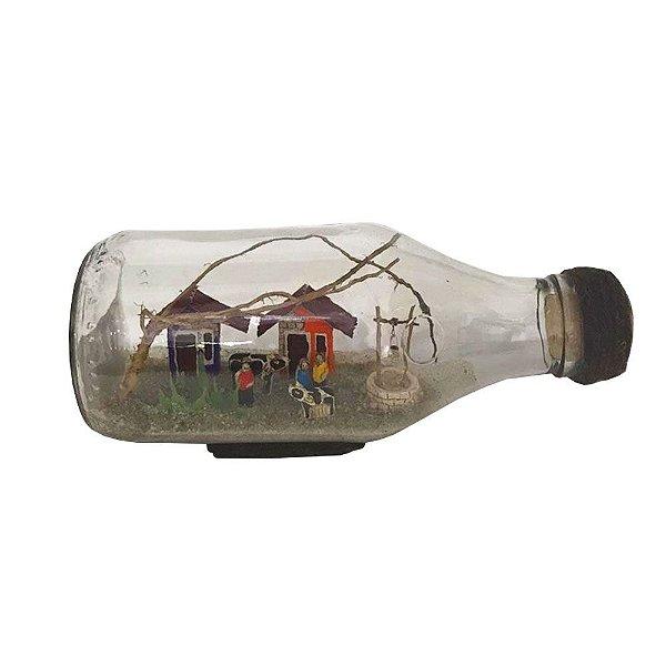 Casinhas no vidro Elias - CE