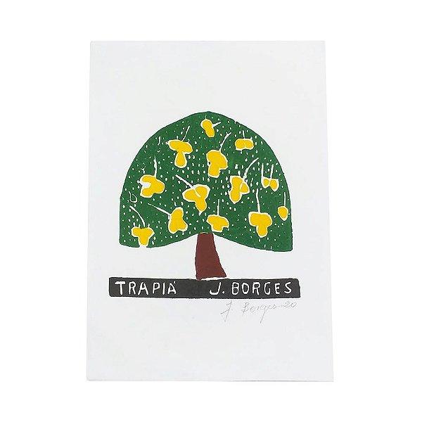 Xilogravura Trapia - J. Borges