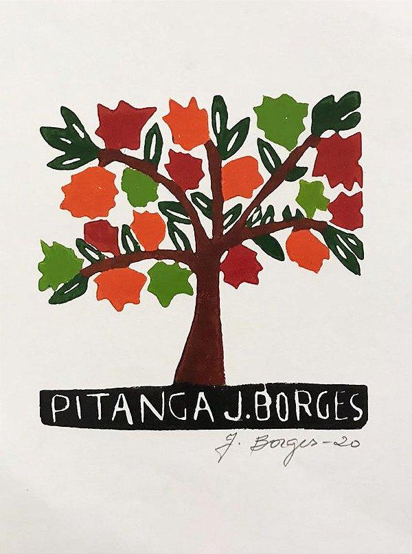 Xilogravura J. Borges Pitanga P - PE