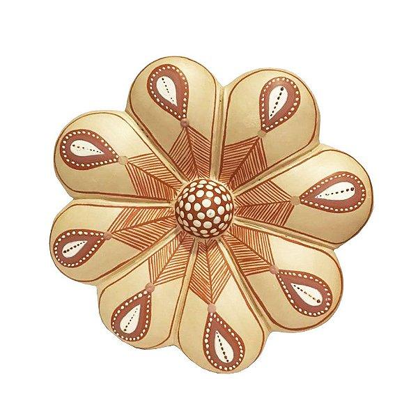 Flor de Parede 16 Cm - Vale do Jequitinhonha - MG