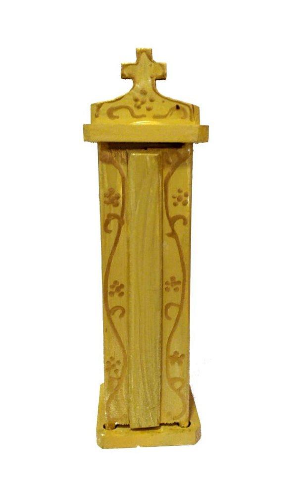Oratório Madeira Amarelo PP - PB