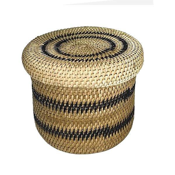 Cesto com tampa Yanomami  M - AM