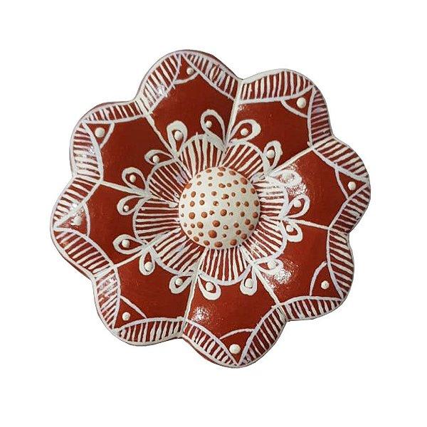 Flor de Parede 8 Cm - Vale do Jequitinhonha - MG