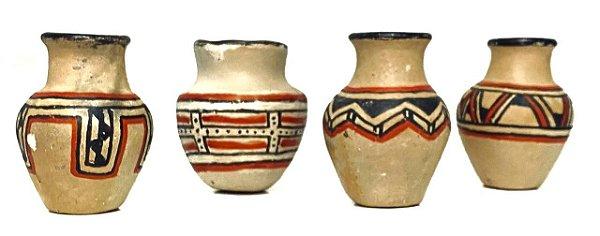 Conjunto de mini vasos Karajás - MT