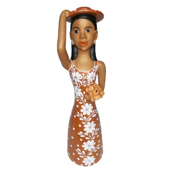 Mulher com Chapéu na Cabeça - Rafaella - Vale do Jequitinhonha MG