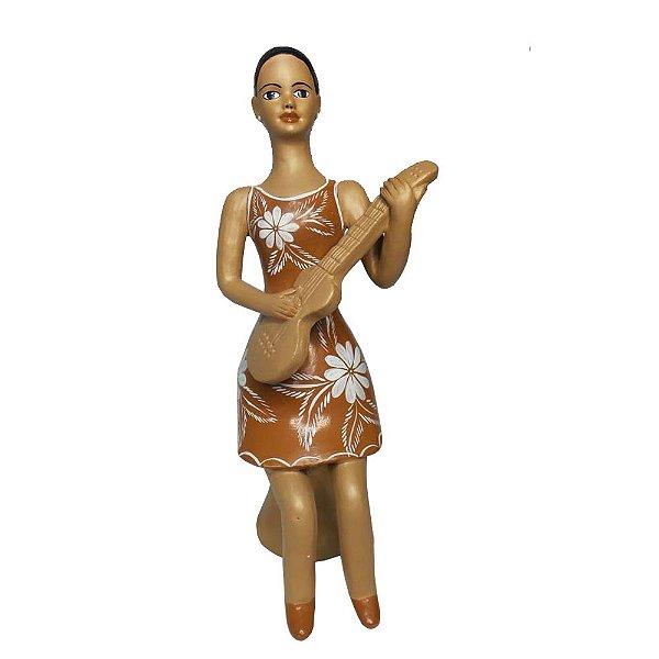 Boneca Sentada - Rafaella - Vale do Jequitinhonha - MG