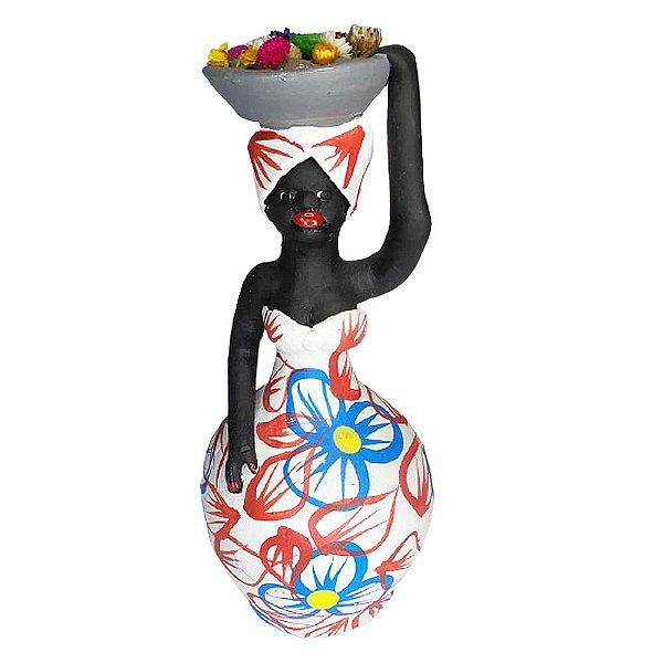 Boneca com Flores P - Leonildo - PE