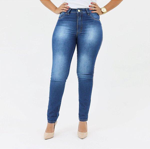 3f63fcf02 Calça Dyjoris Cigarrete Feminina Cós Alto 003DJ40003 - Use Jeans Sempre