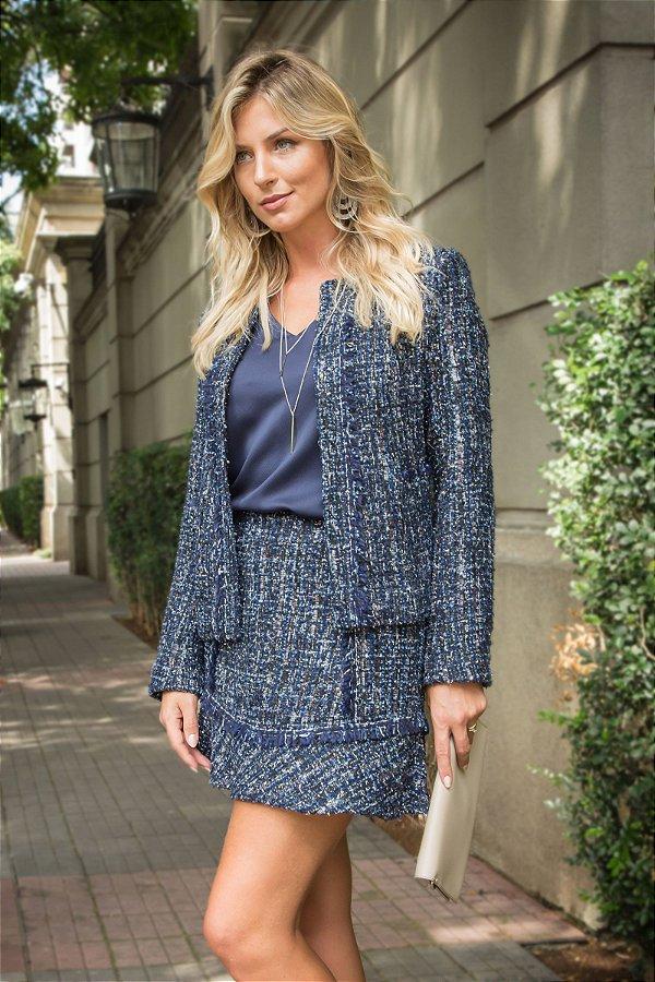 Casaco Tweed Color