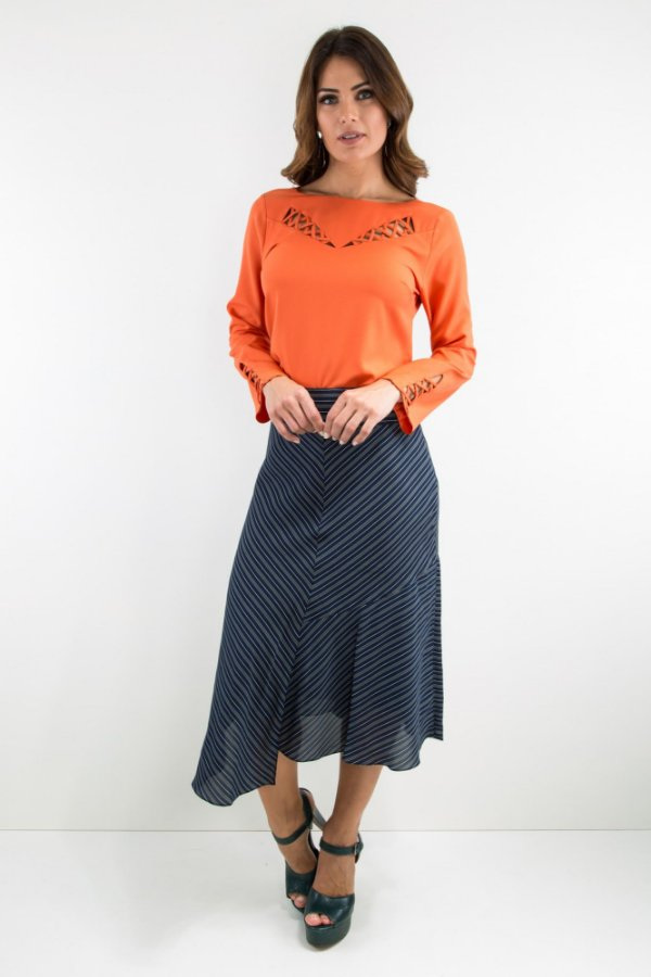 Blusa Marcelly Crepe