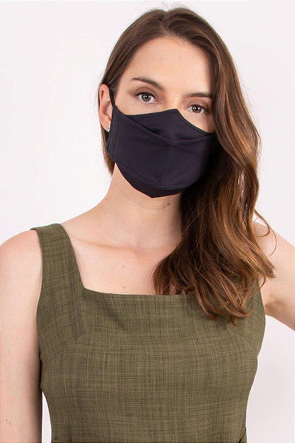 Máscara 3D Antiviral Dupla Camada