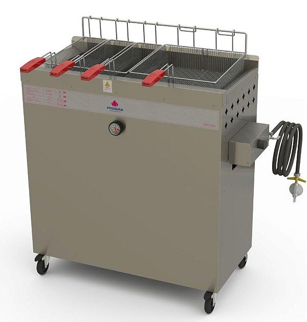 Fritador água e óleo PR-3000 BPG gás Progás