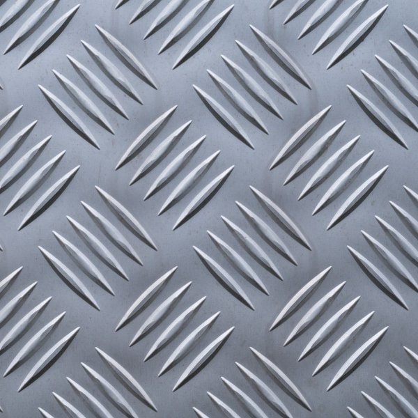 Chapa xadrez 2500 x 1000 x 2,7 - Peso teórico 20,40