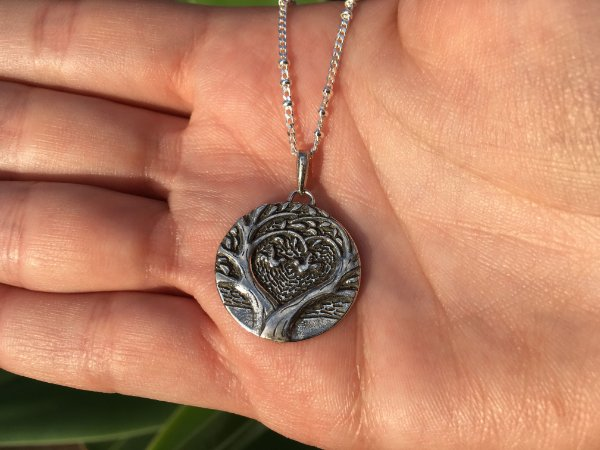 Colar árvore da vida em prata 925