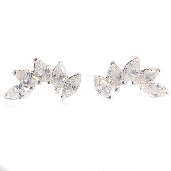 Ear cuff navetes em prata 925