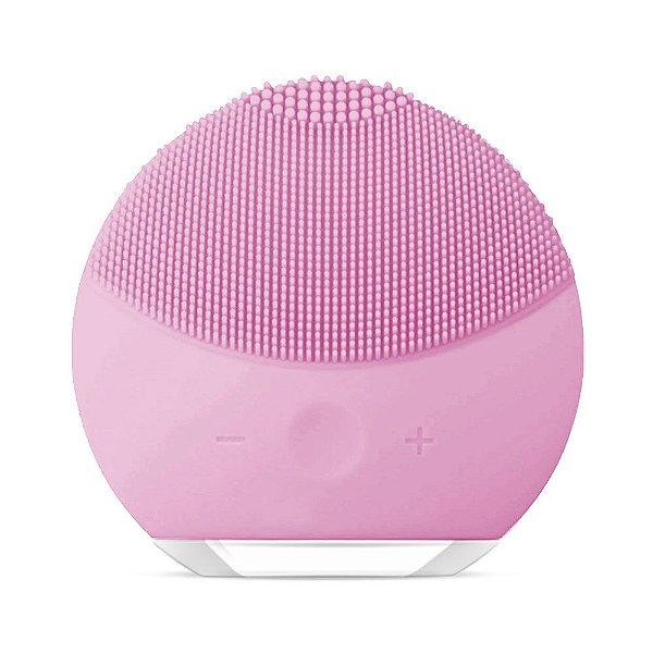 Esponja Elétrica Forever de Limpeza de pele Facial Massageadora de Silicone Rosa