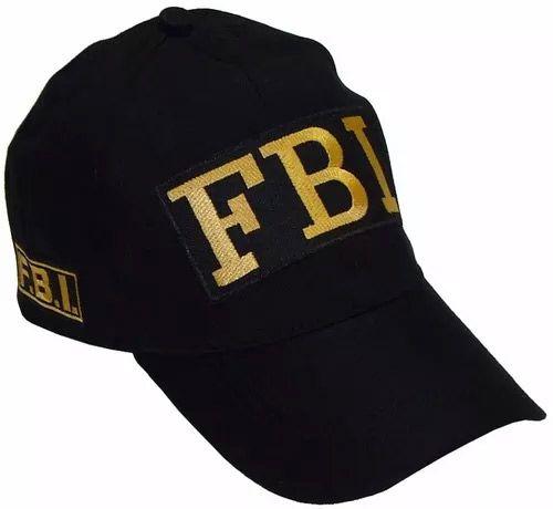 BONÉ FBI PRETO