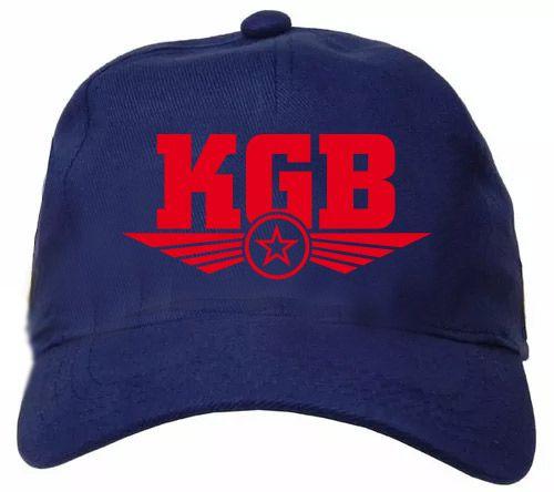 BONÉ KGB AZUL