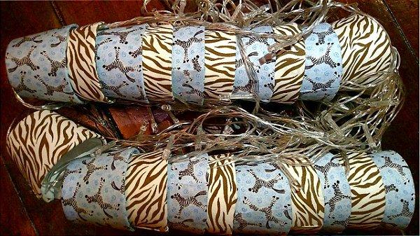 Pisca Decorativo Zebrinha