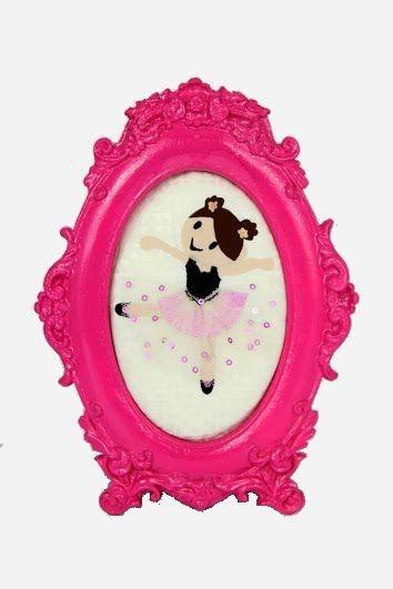 Quadro Bailarina Menina