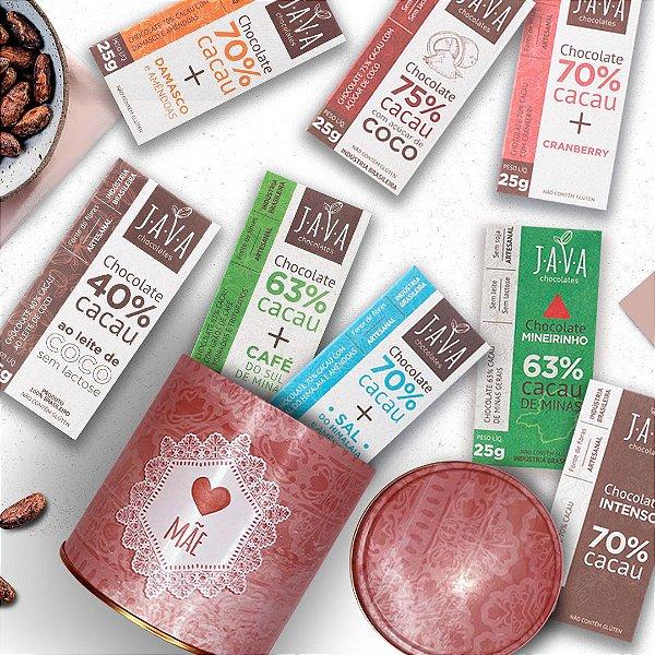 Presente para mãe - Kit Chocolates SORTIDOS na LATA