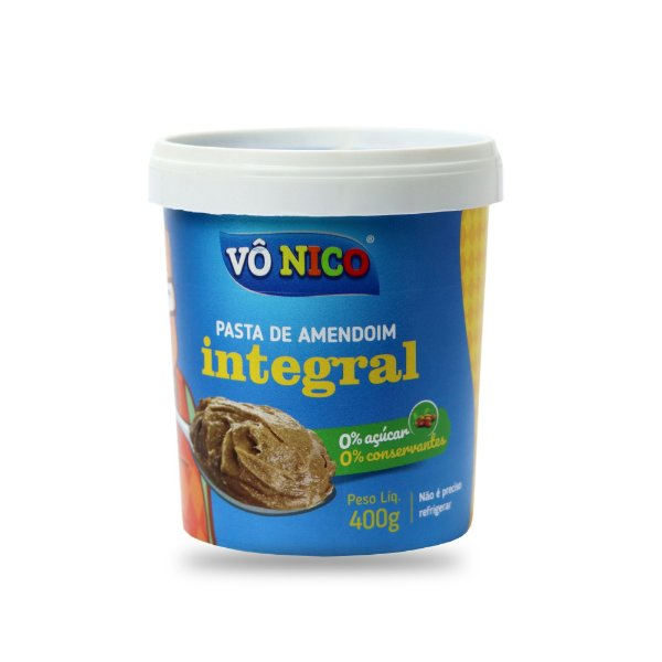 Pasta de Amendoim Integral 400g
