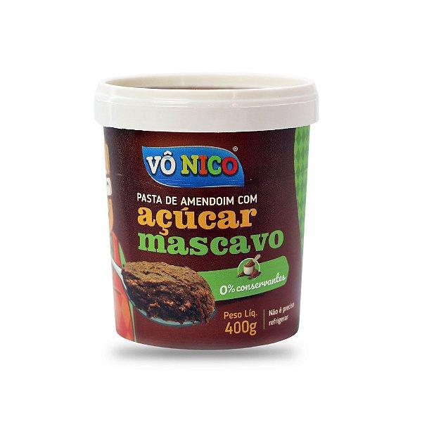 Pasta de Amendoim com Açúcar Mascavo 450g