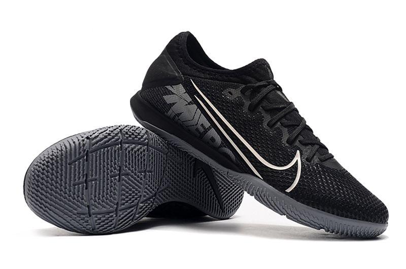 Chuteira Futsal Nike Mercurial Vapor 13 Pro IC Preta FRETE GRÁTIS