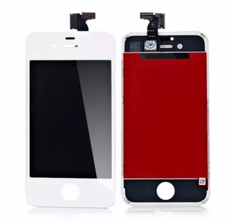 Display Tela LCD Touch Vidro Lente Apple iPhone 4S - Branco
