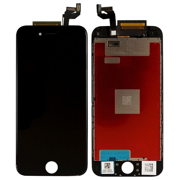 Display Tela Lcd Touch Vidro Lente Apple Iphone 6 4.7 Preto
