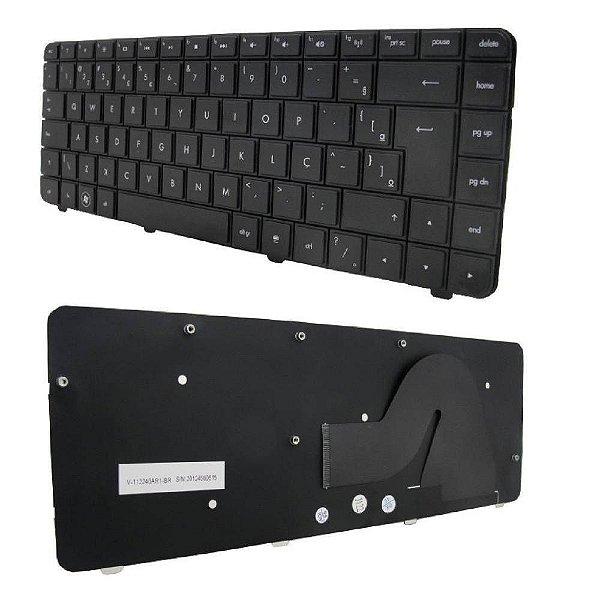 Teclado Compatível Notebook Hp Compaq Cq42   Abnt Ç